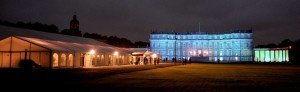 Hopetoun Floodlit with Marquee