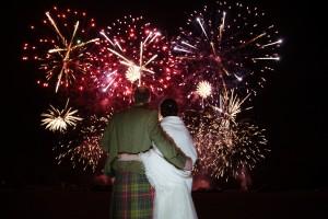 Fireworks at Hopetoun
