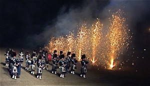 Beat the Retreat with Fireworks