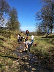 Craigroyston School Visit to Hopetoun Estate
