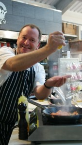 Cookery master class with chef Neil Forbes