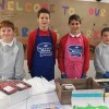 Ratho Primary pupil butchers