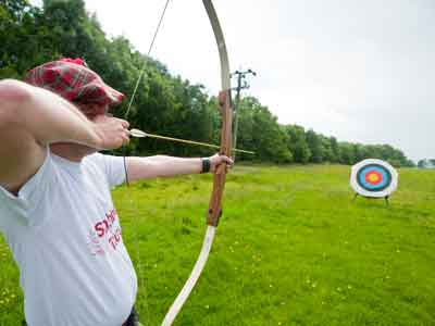 archery at hopetoun