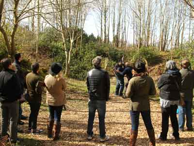 group clay shooting at Hopetoun