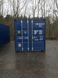 Containers at Whitequarries Industrial Estate