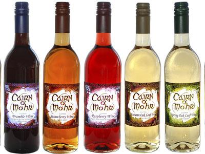 Cairn o'Mohr bottles